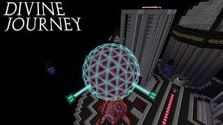 Energy Storage and Automatic Enticing Crystals : Divine Journey Ep 76 Minecraft 1.7.10