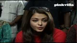 Aishwarya Rai Bachchan at Sion hospital as part of World AIDs day celebration