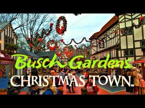 Christmas Town (2018) Busch Gardens Williamsburg