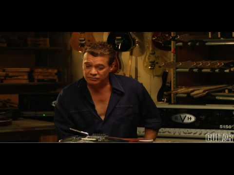 Eddie Van Halen's EVH Wolfgang Guitar
