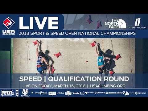 Qualification Round • 2018 Speed Climbing Open National Championships • 3/16/18 11:40 AM PST