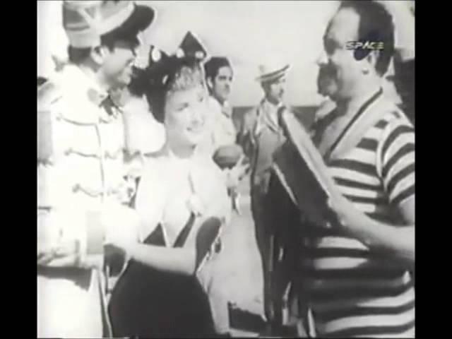 """Escena de """"La Casta Susana"""" (1944) en Atlántida (Uruguay)"""