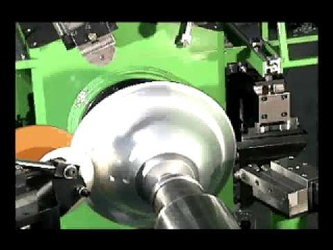 large spin machine