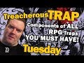 Dungeon Traps, How to design traps for your roleplaying games - Treacherous Trap Tuesday
