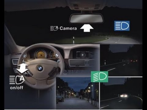Bmw Adaptive Headlights High Beam Assistant Youtube
