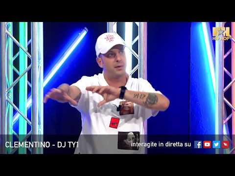 CLEMENTINO E DJ TY1 LIVE SU HIP HOP TV 🎤📀📲