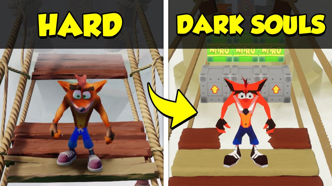 So I Remade Crash Bandicoot BUT You Can't Beat It | Fan Game