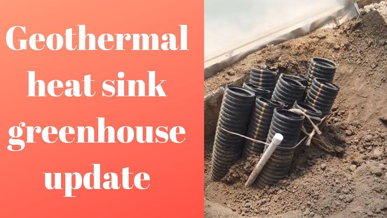 heat sink greenhouse update june 2019