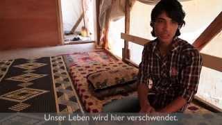 """""""Meine Zukunft ist vorbei"""" - Jugendliche aus Syrien berichten"""