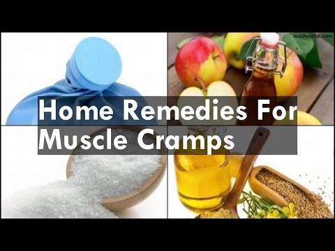 Home Reme For Muscle Cramps