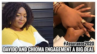 DAVIDO AND CHIOMA ENGAGEMENT A BIG DEAL REGINA DANIELS V CHIOMA