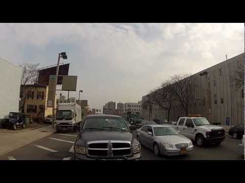 Riding Lower Manhattan Through Holland Tunnel in NYC on a Honda XR650L