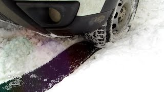 ⠀АНТИБУКСА — противопробуксовочная резиновая лента для автомобиля