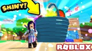 IL SEGRETARIO SHINY EASTER BASKET PET È COSÌ SOPRA ALIMENTATO! Roblox Bubble Gum Simulator