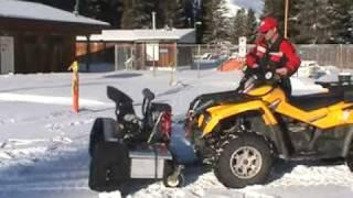 ATV Snowblower Berco 54