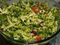 Диетический легкий салат/Правильное питание/Салаты/Salads recipes for weight loss