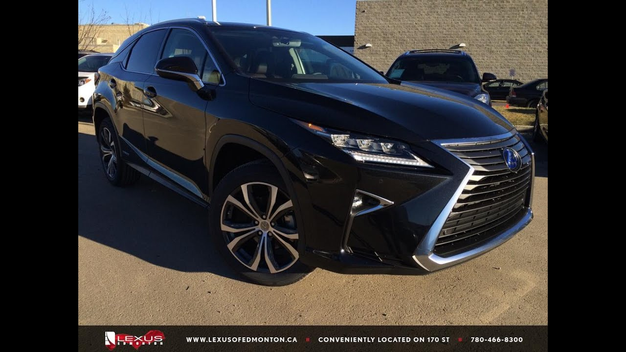 Rx 450h 2015 >> 2016 Lexus RX 450h AWD Review - YouTube