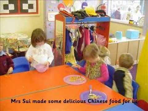 Chinese New Year Day at my nurserey