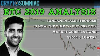 BTC 2019 Predictions | Is Now The TimeTo Buy Crypto? | $3000 or Lower?