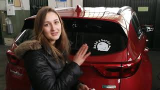 Come rimuovere un adesivo dalla propria auto!