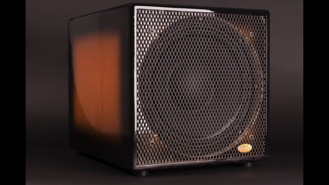 GSS custom color bass cab - YouTube