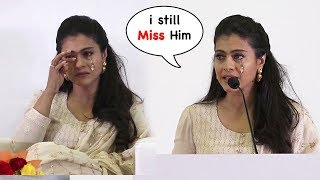 EMOTIONAL Kajol Breaks Down On Stage While She Talks About Family Member