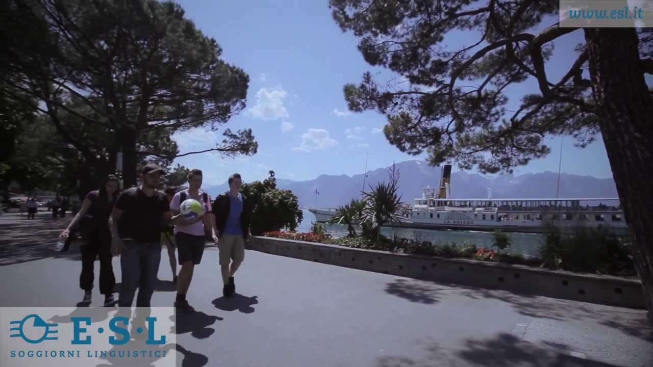 Viaggio studio Montreux, Svizzera, con ESL -- Soggiorni ...