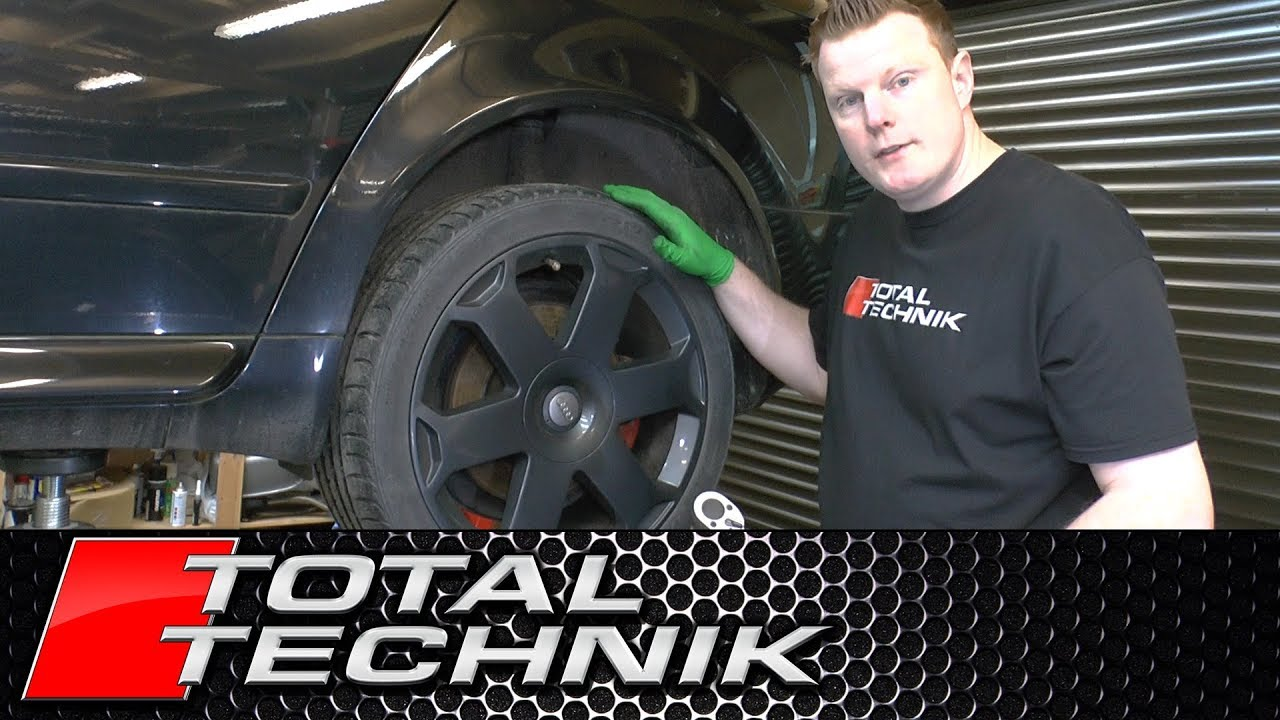 Correct Torque Setting for Wheel Bolts - Audi A4 S4 RS4 - B6 B7 - TOTAL  TECHNIK