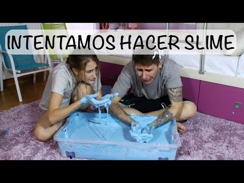 INTENTAMOS HACER SLIME GIGANTE + TAG DE LOS HERMANOS | Hermanos Jaso
