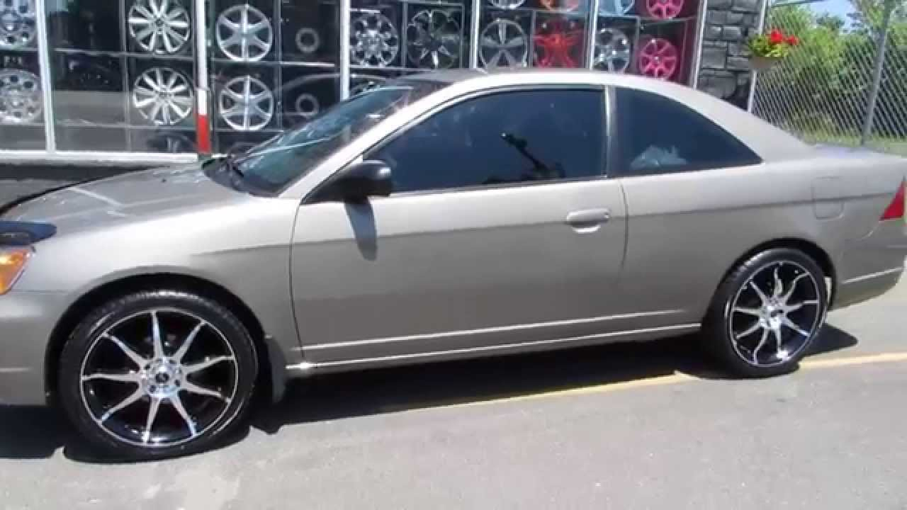 HILLYARD RIM LIONS 2003 HONDA CIVIC 2 DOOR WITH 18 INCH RIMS u0026 TIRES CUSTOM - YouTube & HILLYARD RIM LIONS 2003 HONDA CIVIC 2 DOOR WITH 18 INCH RIMS ... pezcame.com