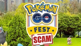 Pokemon GO Fest is a SCAM?