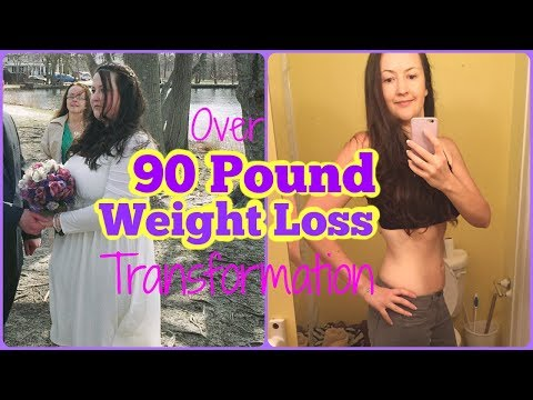 90 Pound Weight Loss Transformation / Before & After
