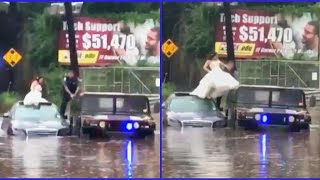New Jersey Bride on Being Rescued from Flood: 'I Was Terrified'
