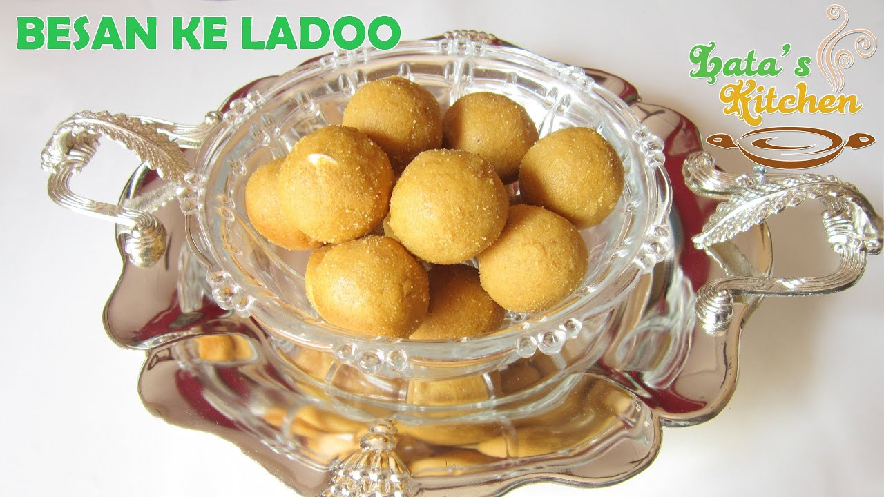 Besan ke ladoo recipe besan laddu recipe indian sweet latas besan ke ladoo recipe besan laddu recipe indian sweet latas kitchen youtube forumfinder Gallery