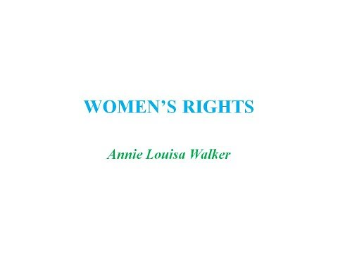 WOMEN'S RIGHTS Poem