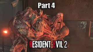 STOP FOLLOWING ME!/ The End | Resident evil 2 part 4