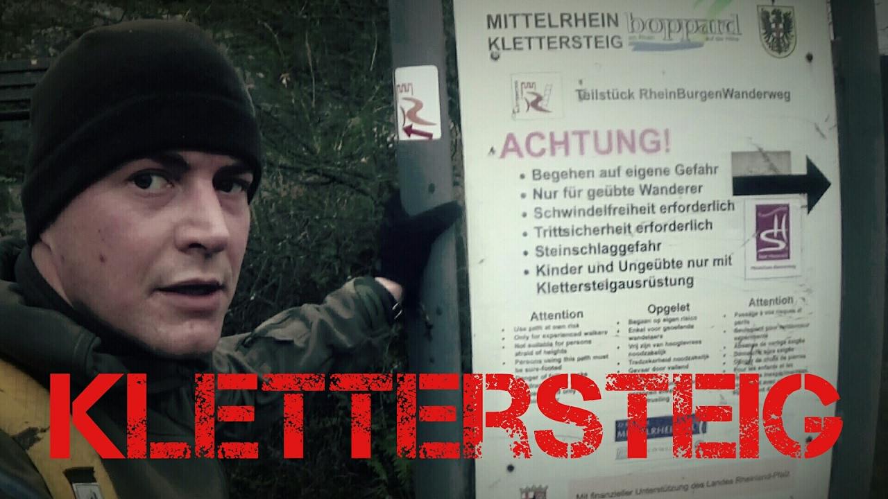 Klettergurt Mit License : Mittelrhein klettersteig boppard andy brauchs grobb youtube