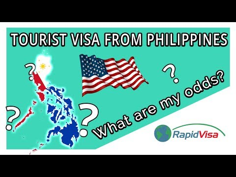 Philippines To USA Tourist Visa Chances Of Approval