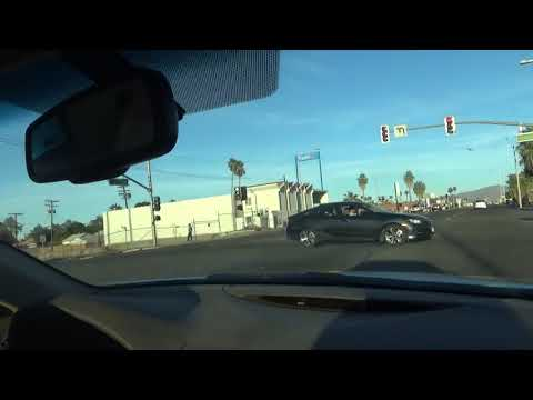 Driving Tour Of The Main Street In Blythe CA California Desert Town