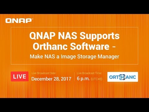 QNAP NAS Supports Orthanc Software - Make NAS a Image Storage Manager