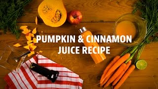 Pumpkin & Cinnamon Juice (Sana Juicer by Omega EUJ-707) - video recipe