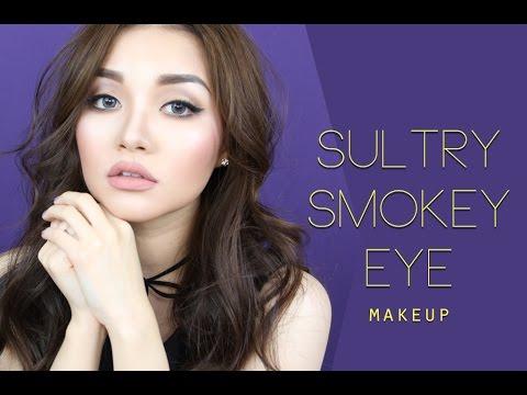 (ENG)Trang Điểm Mắt Khói Gợi Cảm - Sultry Smokey Eye Makeup | Tina