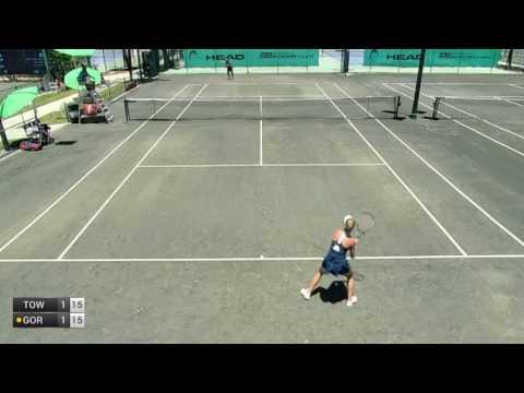 Townsend Taylor v Gordon Michaela - 2017 ITF Naples