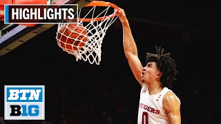 Highlights: Baker's 22 Leads Rutgers to Win | Niagara at Rutgers | Nov. 10, 2019