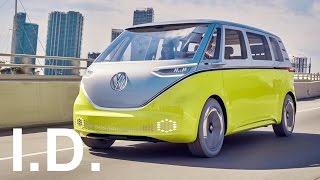 New 2018 Volkswagen I.D. Buzz - interior Exterior and Drive