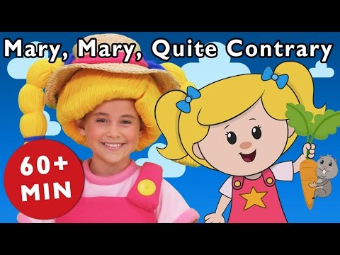 Mary, Mary, Quite Contrary and More Rhymes With Mary | Nursery Rhymes from Mother Goose Club!
