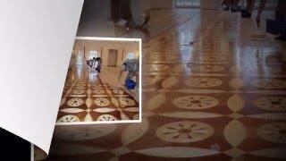 Фото видео. Реставрация циклевка шлифовка паркета(http://ciklevka.kiev.ua/ Циклевка шлифовка восстановление 8-летнего старого паркета., 2016-02-12T12:03:22.000Z)