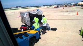 United baggage handlers at Ohare