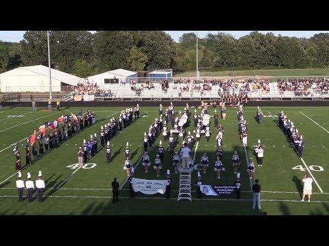 Durand Marching Railroaders Alumni Game 2017