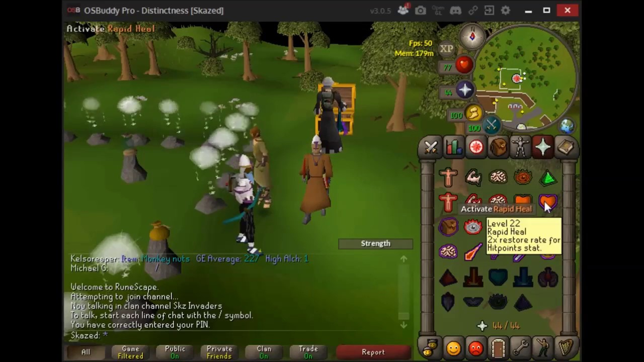 NMZ OSRS 1 Defence Guide 50k Strength Xp/Hour